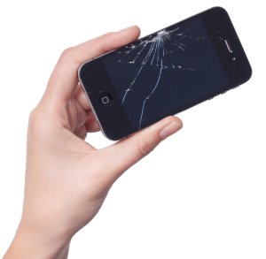 Cracked screen repair - does not mean data loss