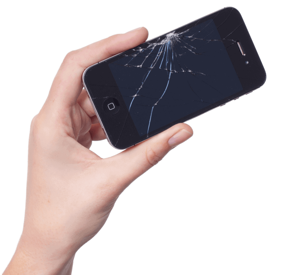 Cracked screen does not mean data loss