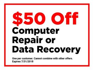 computer repair coupon