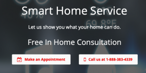 ClickAway smart home device service
