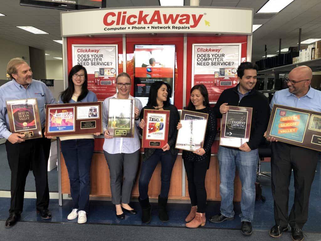 Get a quote - clickaway computer repair award winning
