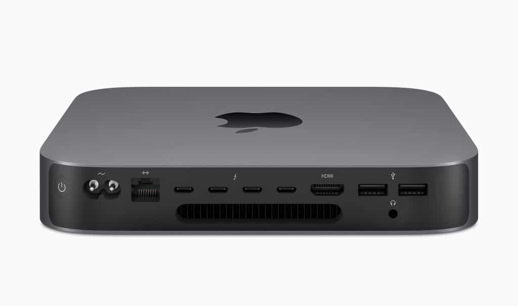 Apple Mac mini student desktop computer