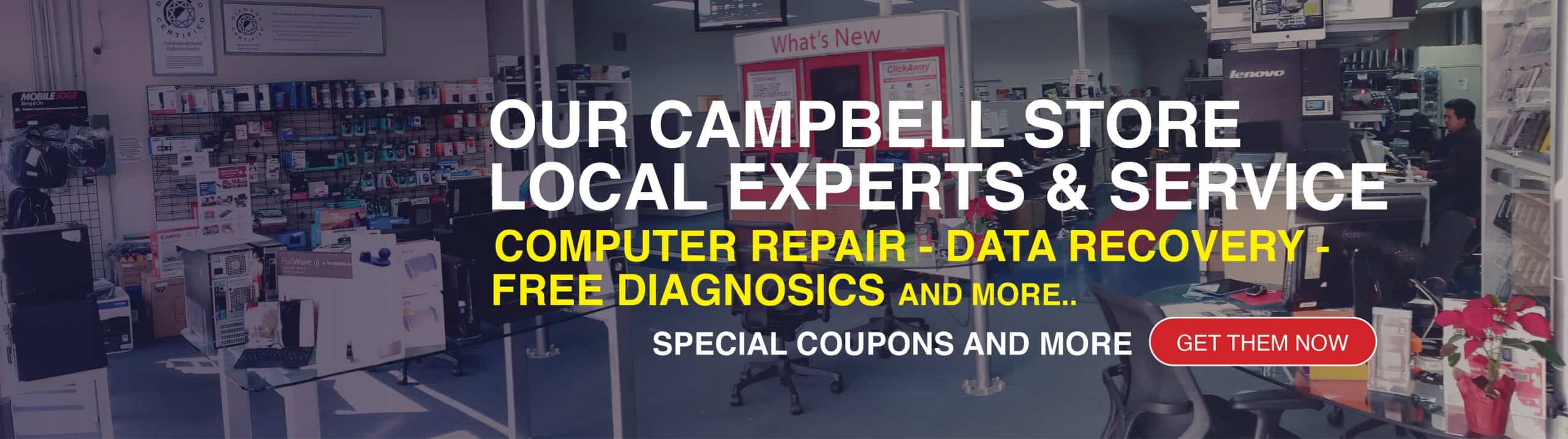 Campbell store local experts & service