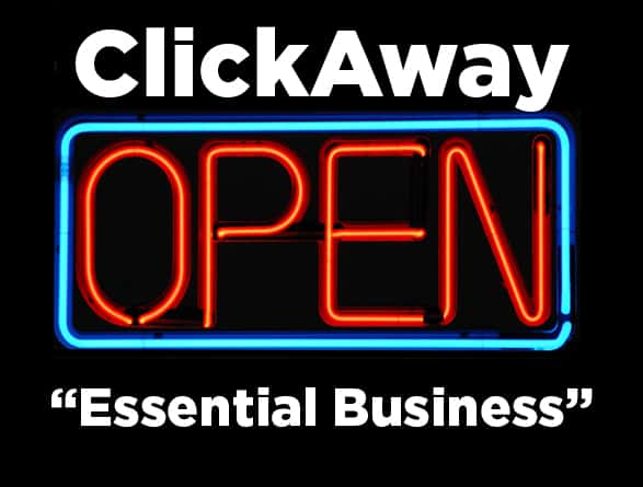 essential business services open