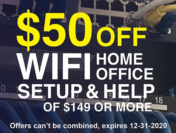 Wifi Setup Coupon