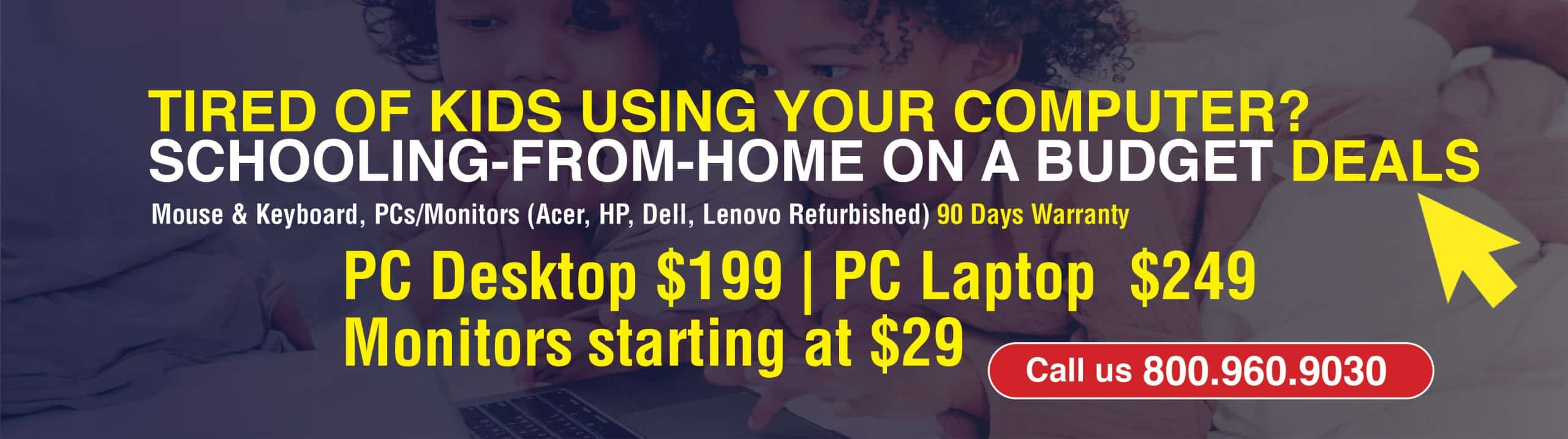 Back to School Computer Sales