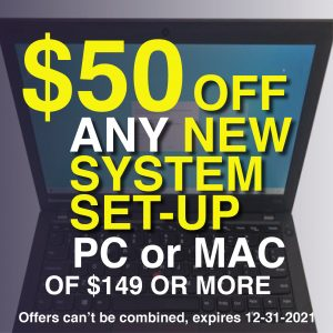 coupon-new-system-setup- $50 off and new system setup