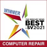 Winner Best Computer Repair in Silicon Valley 2021
