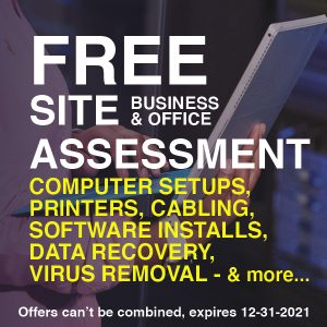 Free Site Assessment Coupon for Business and Office
