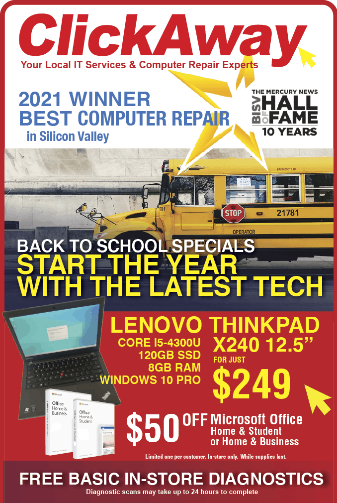 Ad we have back to school specials