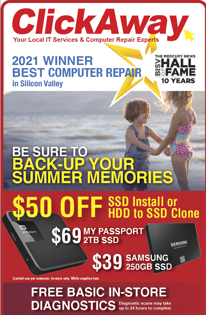 AD backing up your summer memories